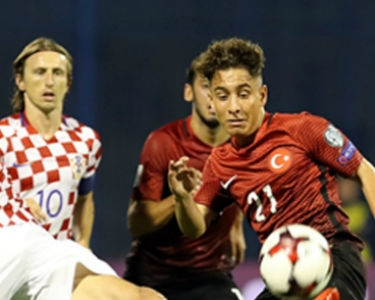 A Milliler Hırvatistan'la puanları 1-1 paylaştı