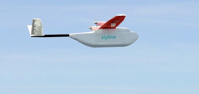 Afrika'da muhteşem proje: Dronelar artık kan dağıtıyor