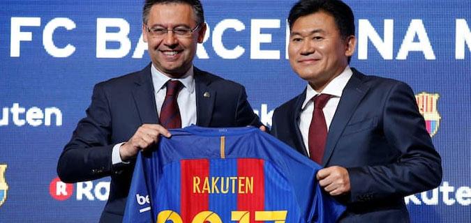 Barcelona'dan dudak uçuklatan sponsorluk anlaşması