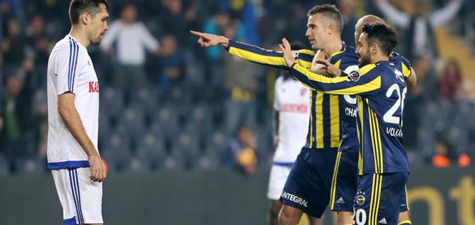 Fenerbahçe Karabükspor'a fena patladı: 5-0