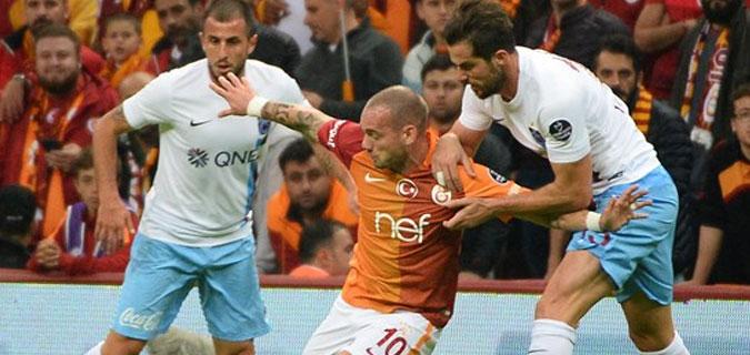 İlklerin maçı: Galatasaray 0-1 Trabzonspor