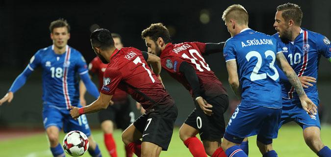 İzlanda oynadı A Milliler izledi