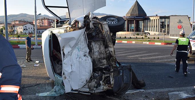Malatya'da Kaza! 16 Yaralı, 4'ü ağır durumda