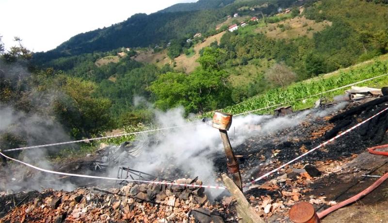 Ordu İlinde Çıkan Yangında 3 Kişi Hayatını Kaybetti