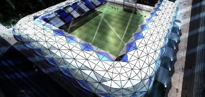 Yeni Alsancak Stadı görücüye çıktı
