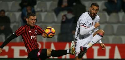 Beşiktaş Gençlerbirliği engelinde 2 puan bıraktı: 1-1