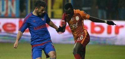 Galatasaray Karabükspor deplasmanından çıkamadı