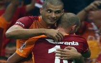 Galatasaray'da Sneijder-Eren A.Ş. Rizespor'u yıktı